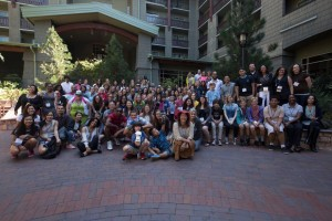 Group of people with Youth Philanthropy Connect YPC 2016
