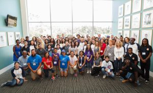 Group of people at 2017 SoCal Youth & Next Gen Philanthropy Gathering in Los Angeles, CA