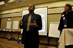 Speaker at YPC 2011