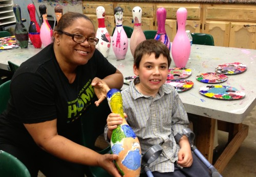 optionA_Junior Board Member, Liam, with grantee A Place Called Home during a site visit-IMG_2202