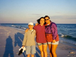 Spring Break Road Trip with my brother and sister almost 20 years ago!